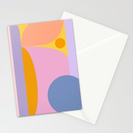Pink and Lavender 01 Stationery Cards