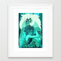 malachite Framed Art Prints featuring MALACHITE by Amaet