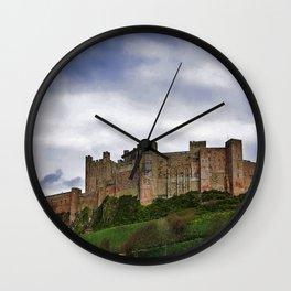 Bamburgh Castle Wall Clock