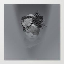 Grey Coral Canvas Print