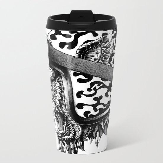 Tiger Helm Metal Travel Mug