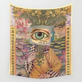 I SAW YOU ON TV Wall Tapestry