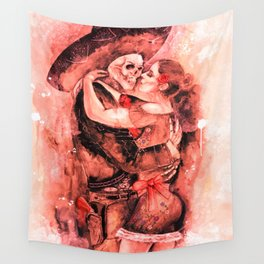 "Un Ultimo Baile ""Red-Dead"" version Wall Tapestry"