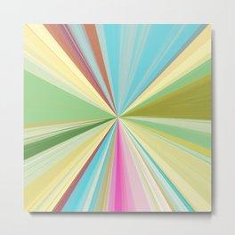 415 Abstract Colour design Metal Print