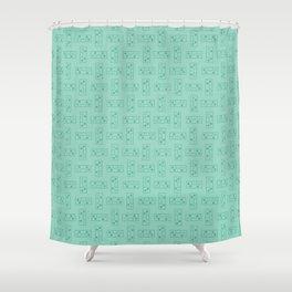 Controller Pattern Shower Curtain