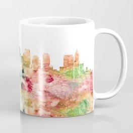 Boston City Skyline Massachusetts Coffee Mug