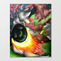 okami Canvas Prints featuring Okami by Draikinator