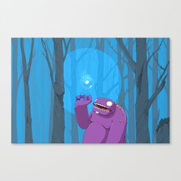 Ghost of Mello Marsh Canvas Print