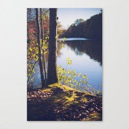 Solitude Lake Canvas Print