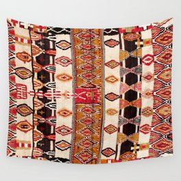 Beni Yacoub South Morocco North African Pile Rug Print Wall Tapestry