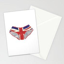 Union Jack Knickers Stationery Cards