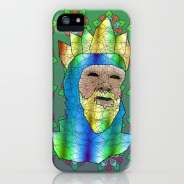 Medieval King iPhone Case