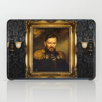 replaceface iPad Cases featuring Ricky Gervais - replaceface by replaceface