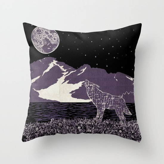 Wolf 1 Throw Pillow