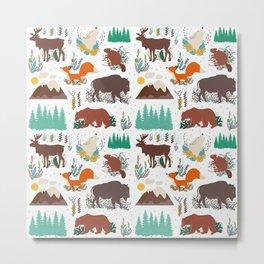 Canadian Wildlife Metal Print