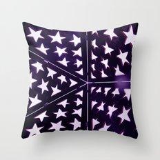 Star Gazing Throw Pillow