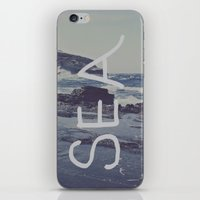 salt water iPhone & iPod Skins featuring Salt Water by Leah Flores
