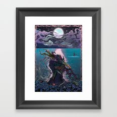 Midnight Meeting Framed Art Print