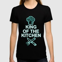 King of the Kitchen Chef Chef Gift Chef's Cap T-shirt