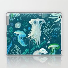 Aqua pattern Laptop & iPad Skin