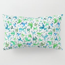 Tree Frogs Pillow Sham