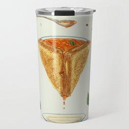 Grilled Cheese Mandala Travel Mug