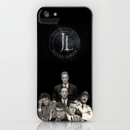 DC Justice League... not only for comics iPhone Case