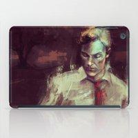 true detective iPad Cases featuring True Detective by nlmda