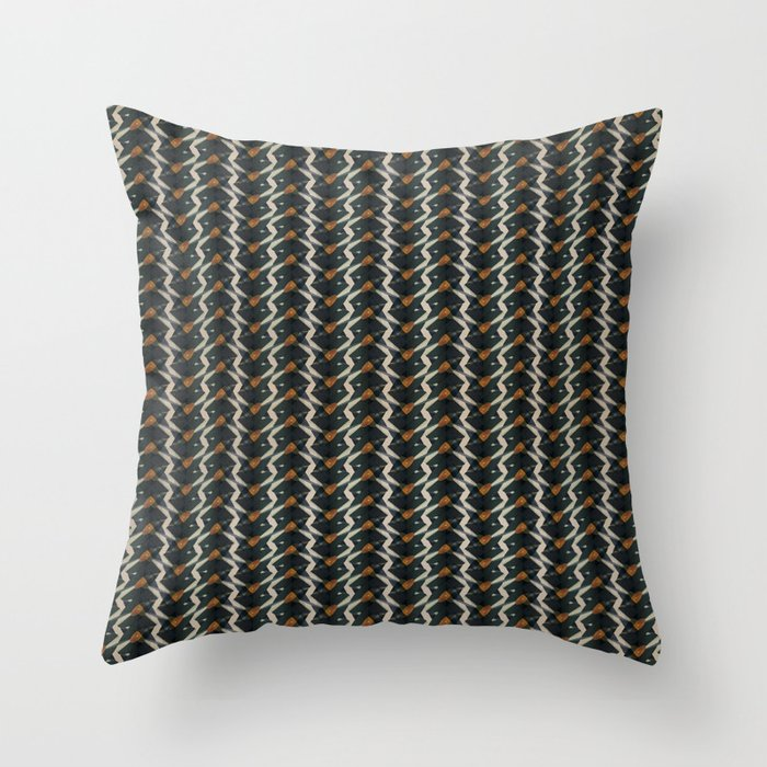1000 records Throw Pillow