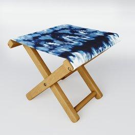 Tie-Dye Shibori Neue Folding Stool