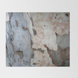 Bark Of A Eucalyptus Tree  Throw Blanket