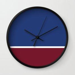 Classic Stripe Wall Clock