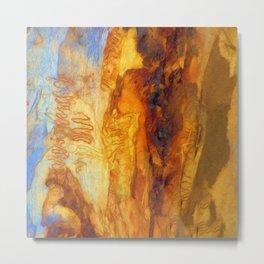 Tree Bark Abstract # 8 Metal Print