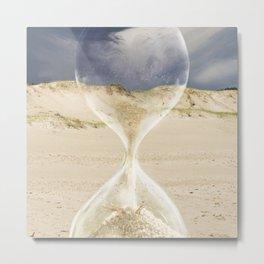 To the desert - time Metal Print