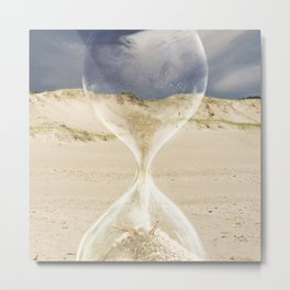 To the desert - time Metal Print