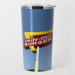 Retro burger Travel Mug
