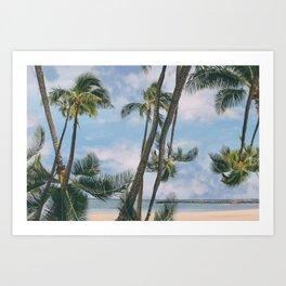 palmy Art Print