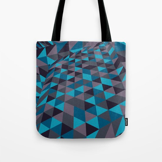 Triangulation (Inverted) Tote Bag