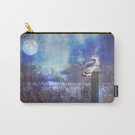 The Northern Harrier and The Moon Carry-All Pouch