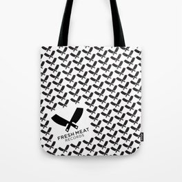 Fresh Meat Records crest Tote Bag