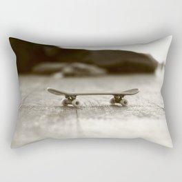Finger Skateboard Rectangular Pillow