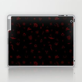 Red Rising Pattern Laptop & iPad Skin