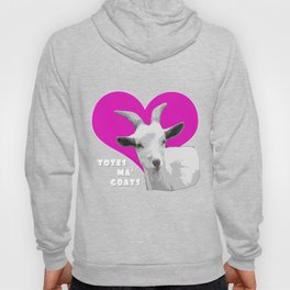 Totes Ma Goats Pink Hoody