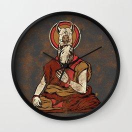 Dali Lama Wall Clock