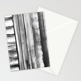 Wooden Shutters in New England Clam Chowder White Stationery Cards