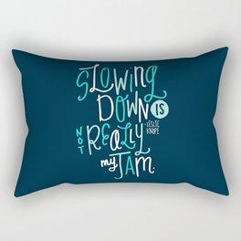 Not My Jam Rectangular Pillow