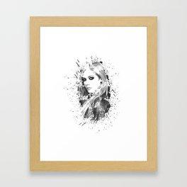 avril lavigne desain 003 Framed Art Print