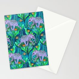 Little Elephant on a Jungle Adventure Stationery Cards