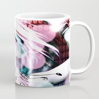 rave Mugs featuring Rave by Vaia