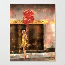 Red (Taylor) Canvas Print